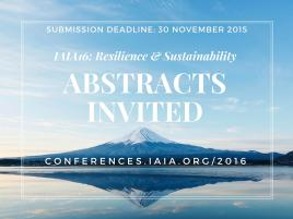 IAIA16 abstracts invited